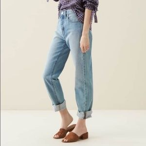 Madewell Perfect Summer High Rise Ankle Jean